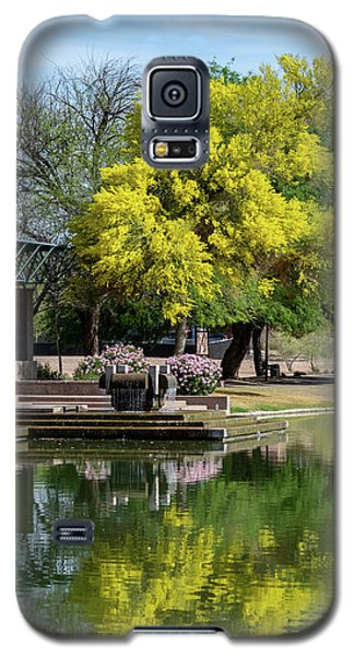 Yellow Reflection Galaxy S5 Case