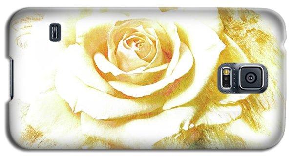 yellow Rose Galaxy S5 Case by Athala Carole Bruckner