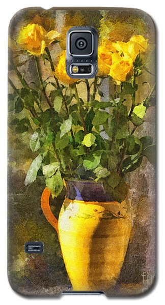 Yellow Roses Bouquet Galaxy S5 Case