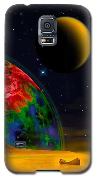 Yellow Sea On Kepler 186d Galaxy S5 Case