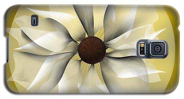 Yellow Soft Flower Galaxy S5 Case