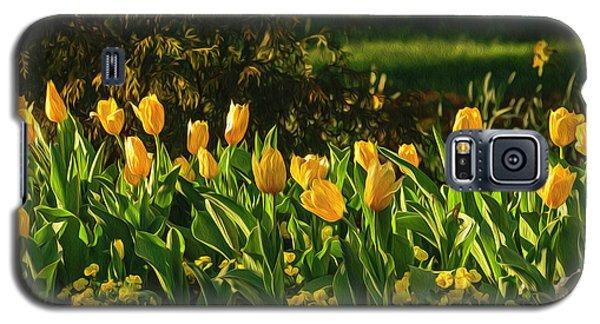 Yellow Spring Fever Galaxy S5 Case