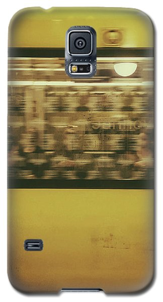 Galaxy S5 Case featuring the photograph Yellow Subway Train by Ivy Ho