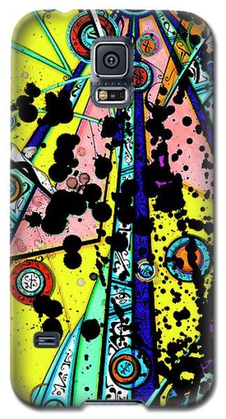Yellow Sun Galaxy S5 Case