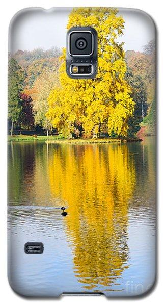 Yellow Tree Reflection Galaxy S5 Case
