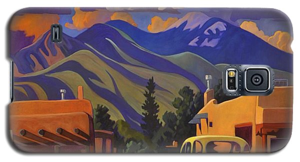 Yellow Truck Square Galaxy S5 Case