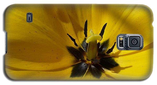 Yellow Tulip 1 Galaxy S5 Case