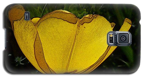 Yellow Tulip 2 Galaxy S5 Case