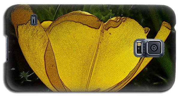 Yellow Tulip 2 Galaxy S5 Case
