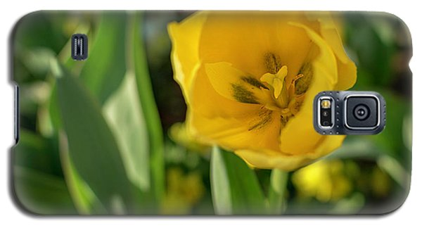 Yellow Tulip Galaxy S5 Case
