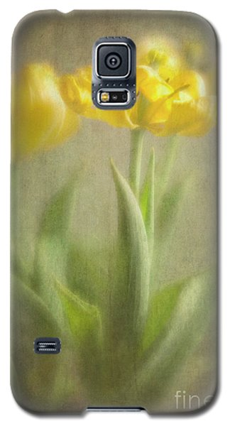Galaxy S5 Case featuring the photograph Yellow Tulips by Elena Nosyreva