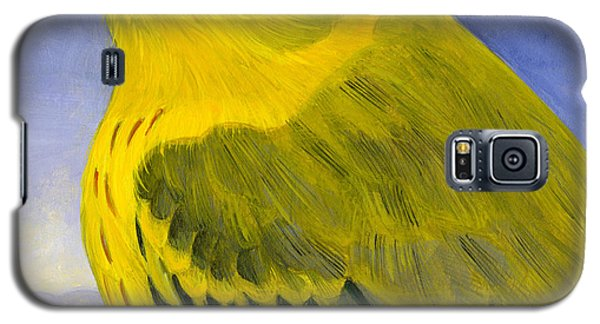 Yellow Warbler Galaxy S5 Case by Francois Girard