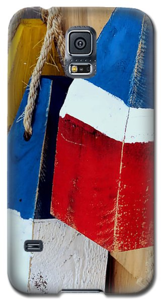 Yellow White Blue Red Galaxy S5 Case