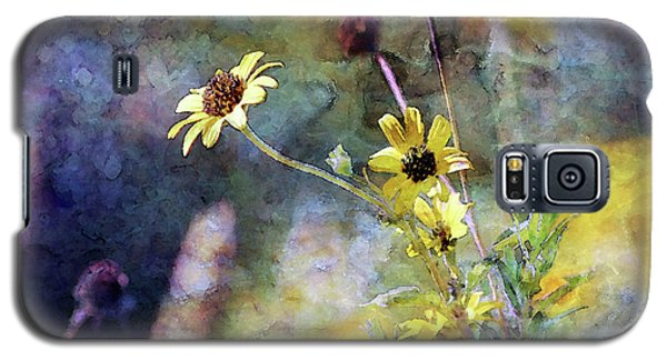 Yellow Wildflowers 3230 Idp_2 Galaxy S5 Case