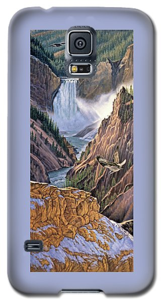 Yellowstone Canyon-osprey Galaxy S5 Case