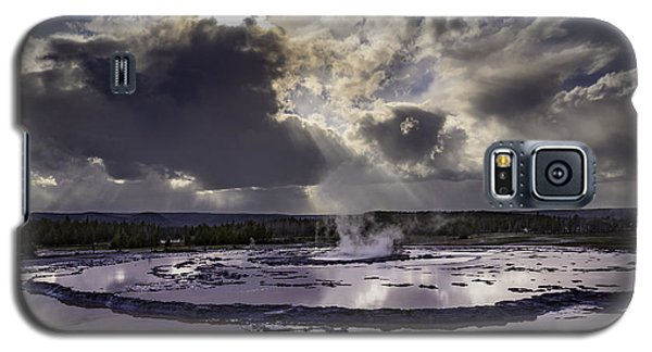 Yellowstone Geysers And Hot Springs Galaxy S5 Case
