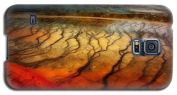 Yellowstone - Grand Prismatic Spring Galaxy S5 Case