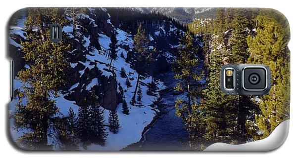 Yellowstone In Winter Galaxy S5 Case