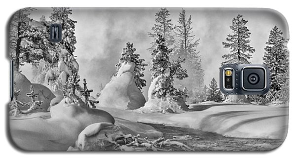 Yellowstone In Winter Galaxy S5 Case