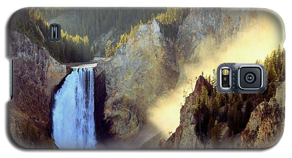 Galaxy S5 Case featuring the photograph Yellowstone by Irina Hays