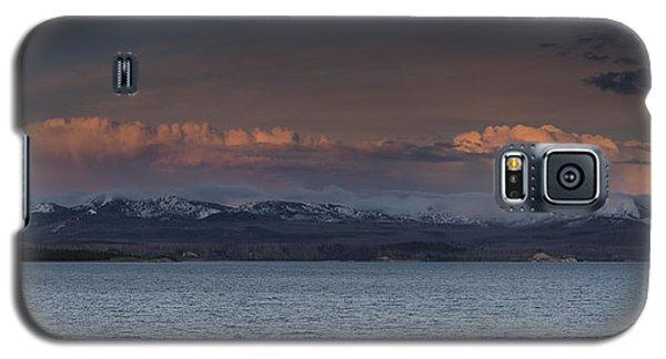Yellowstone Lake At Sunset Galaxy S5 Case