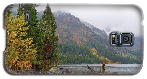 Yellowstone Lake Fall Galaxy S5 Case
