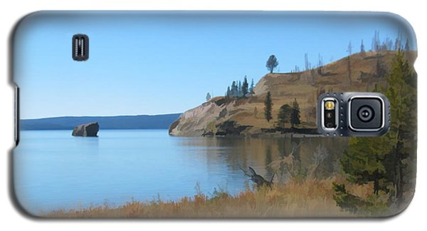 Yellowstone Lake Se Galaxy S5 Case
