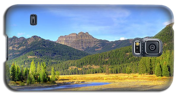 Yellowstone National Park Landscape Galaxy S5 Case