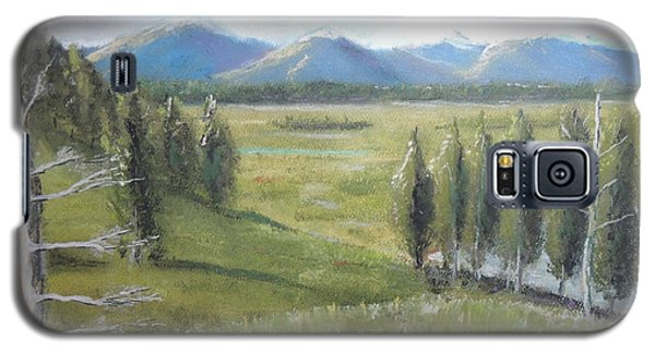 Yellowstone Overlook Galaxy S5 Case by Jayne Wilson