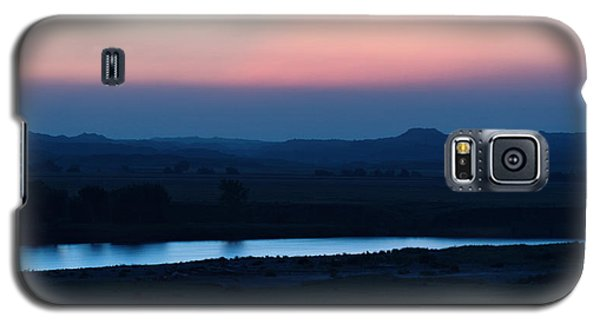 Yellowstone River Evening Galaxy S5 Case