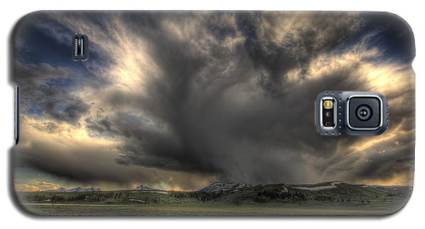 Yellowstone Storm Galaxy S5 Case