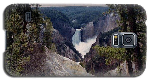 Yellowstone Water Fall Galaxy S5 Case