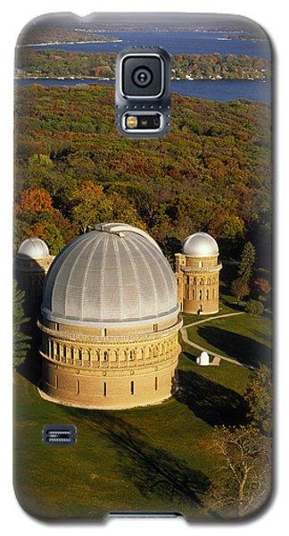 Yerkes Observatory - Aerial View - Lake Geneva Wisconsin Galaxy S5 Case
