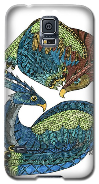 Yin Yang Dragons Galaxy S5 Case