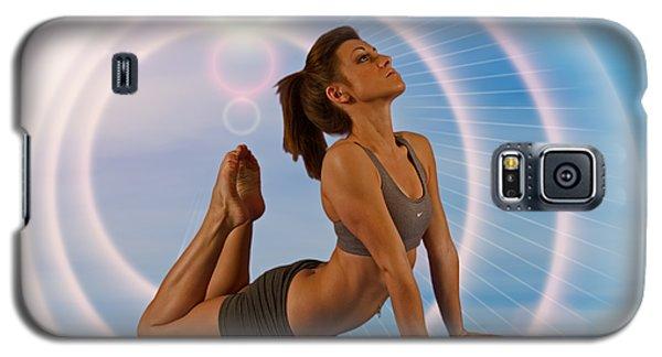 Yoga Girl 1209206 Galaxy S5 Case