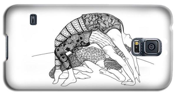 Yoga Sandwich Galaxy S5 Case by Jan Steinle