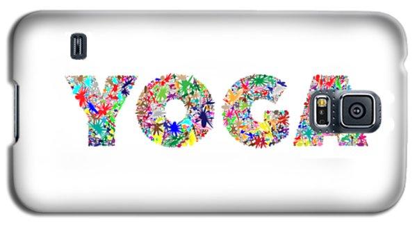 Yoga Word Art Galaxy S5 Case