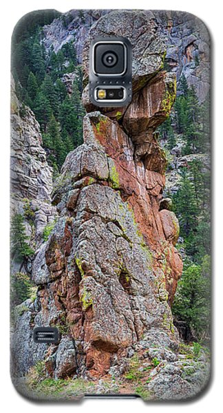 Galaxy S5 Case featuring the photograph Yogi Bear Rock Formation by James BO Insogna