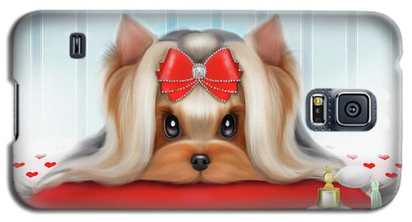 Yorkie Beauty Galaxy S5 Case