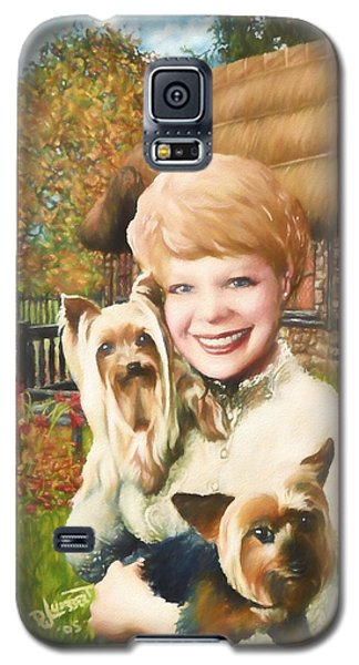 Yorkshire Lady Galaxy S5 Case by Dave Luebbert