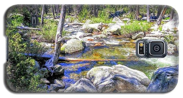 Yosemite Boulder Stream Galaxy S5 Case