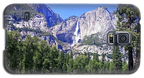 Yosemite Valley Waterfall Galaxy S5 Case