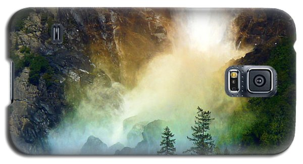 Yosemite Bridalveil Fall Rainbow Galaxy S5 Case
