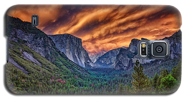 Yosemite Fire Galaxy S5 Case