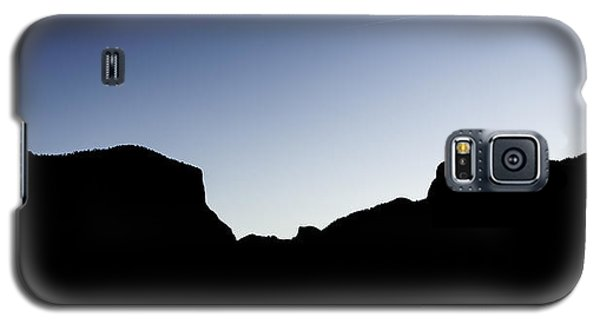 Yosemite In Silhouette Galaxy S5 Case