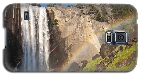 Yosemite Mist Trail Rainbow Galaxy S5 Case