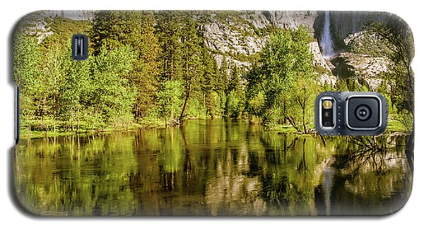 Yosemite Reflections On The Merced River Galaxy S5 Case