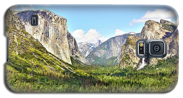 Yosemite Tunnel View Afternoon Galaxy S5 Case