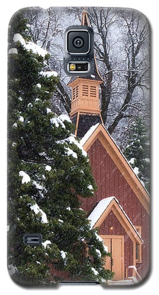 Yosemite Valley Chapel  Galaxy S5 Case