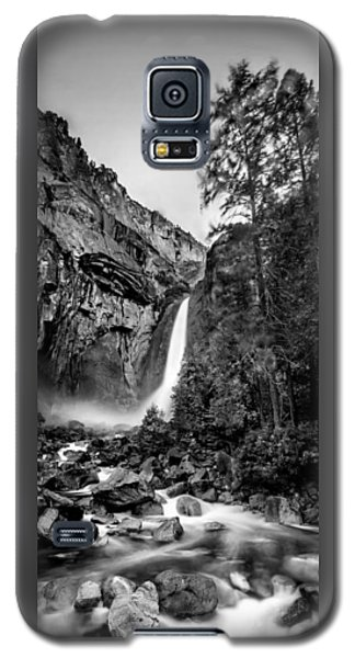 Yosemite Waterfall Bw Galaxy S5 Case by Az Jackson